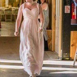 41b661a26bf Azazie Dresses - Cameron bridesmaids dress Azazie bushing pink